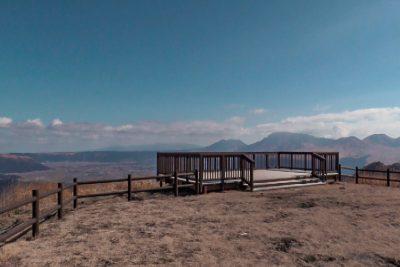 かぶと岩展望所からの眺望
